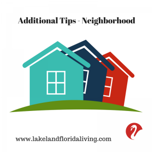 Neighborhood Relocation Tips