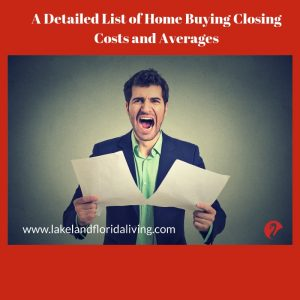 Home Buying Closing Costs