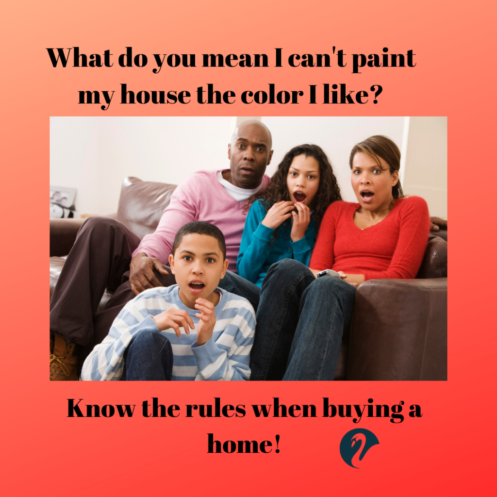 Know the rules when buying a home