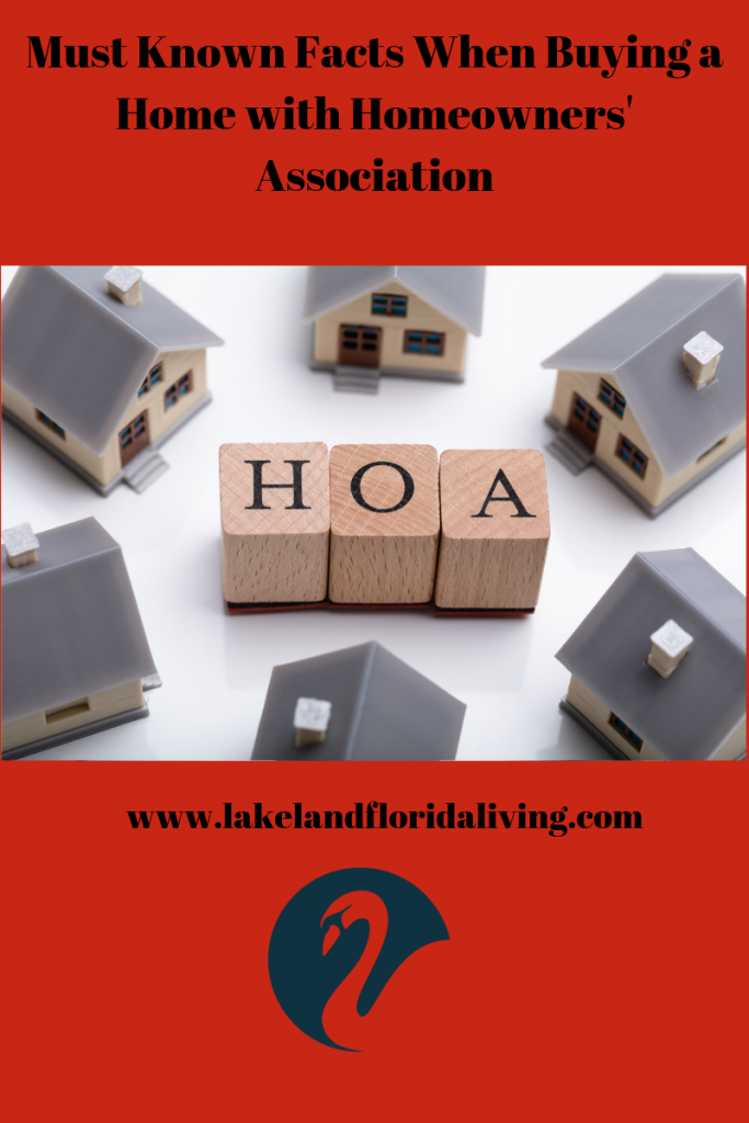 Buying a Home in HOA community