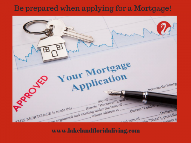 Prepare for Mortgage Application
