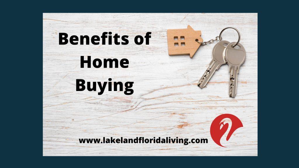 Home buying benefits during coronavirus