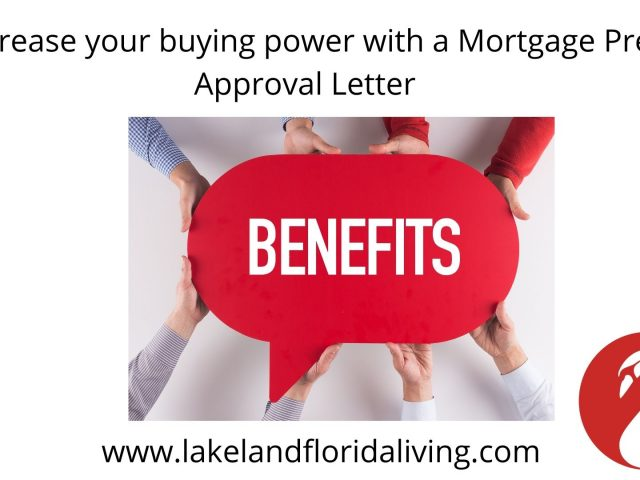 Buying Power with Mortgage Pre Approval