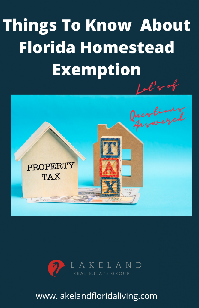 Must Know Facts About Florida Homestead Exemption